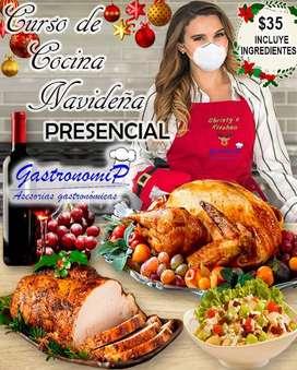 Curso de Cocina Navideña Presencial