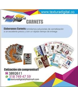 carnets,carnets medellin,carnets corporativos,carnets personalizados,carnets colombia,carnets de identificacion