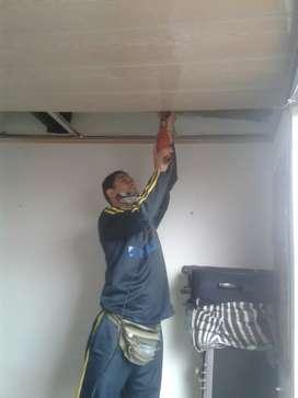 Instalaciones de lamina pvc