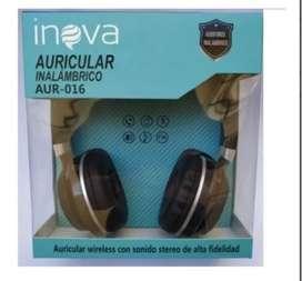Auricular Inalambrico Bluetooth Inova Aur-016
