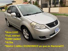 Suzuki SX4 2008 Sedan FuLL Extras Recibo & FINANCIO