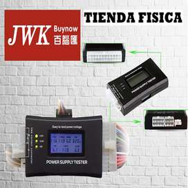 Tester Fuente De Pc Atx, Btx, Itx. Display Lcd JWK