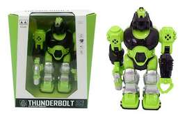 Robot Thunderbolt Con Movimiento Y Luces Led