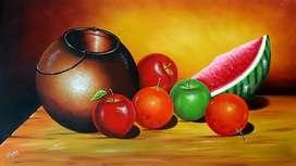 Hermosas pinturas en lienzo