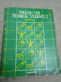 Libro Inglés English For Technical Students 2