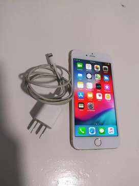 Vendo iPhone 6 PLUS DE 64 GB CON CARGADOR ORIGINAL todo funcional