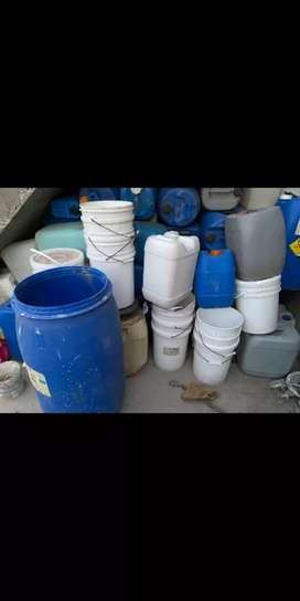 Bidones de plástico varias medidas