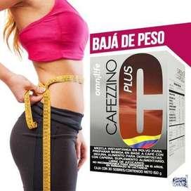 Baja de Peso sin Hacer Dieta con Thermogentea o Cafezzino de Omnilife