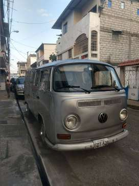 Camioneta Volkswagen Pick Up  Alemana Doble Cabina Tipo Furgoneta