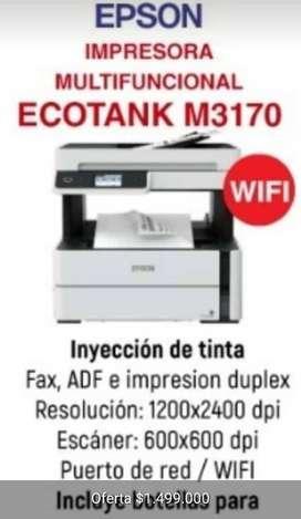 IMPRESORA EPSON ECOTANK M3170
