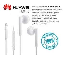 Auriculares Huawei Manos Libres P8 Lite P9 Lite  Mate10 Gw P20 Original y mas...