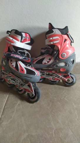 Vendo Rollers Boissy Real Ajustables