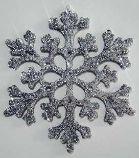 Adornos Navideños Copos De Nieve