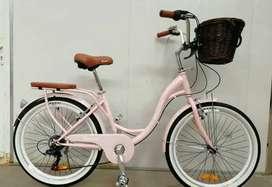 Bicicleta de paseo beneton original