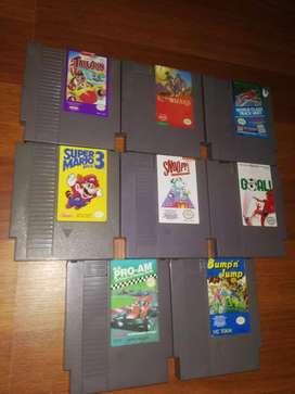 Remate juegos  Nintendo NES y gameboy