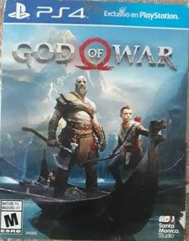 Vendo o cambio juego de GOD OF WAR