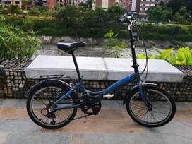 Bicicleta Plegable GW Basilea