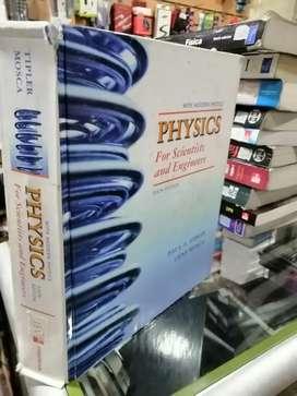 Fisica de tipler sexta edición en inglés pasta dura color volumen 1 y 2 completo