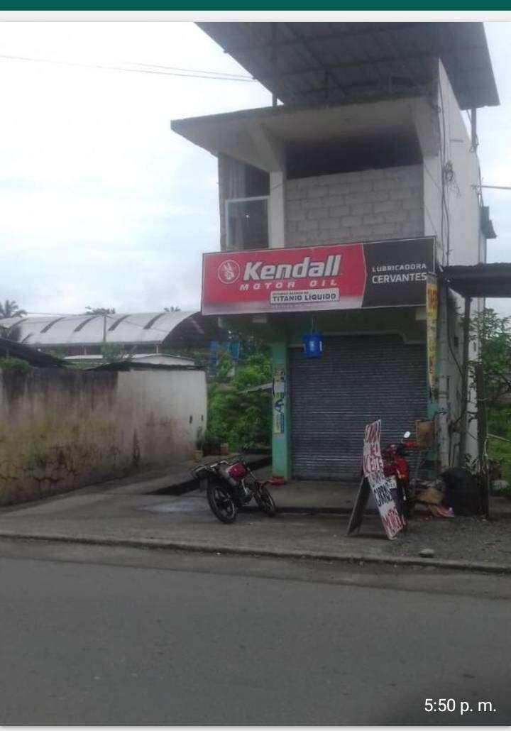 Casa con local comercial. Lavadora y lubricadora precio negociable, funcionando y con clientela, solo de seguir trabjand 0