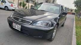 Auto Honda Civic 2000 Sedan Como Nuevo