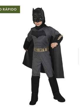 Disfraz de Batman para niño Talla 4