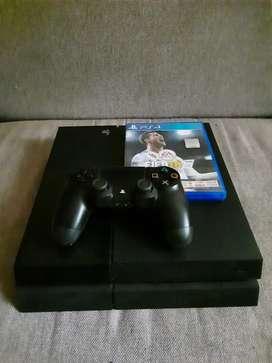Playstation 4 Fat 500 Gb, Control, Juegos. Excelente Estado