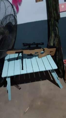 Vendo rifle nitro piston calibre 4.5 esta praxticamente nuevo