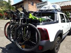 Porta Bicicletas para camioneta pick up.