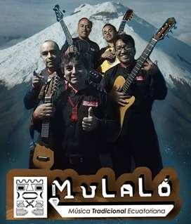 """Grupo """"Mulaló"""" Música tradicional ecuatoriana."""