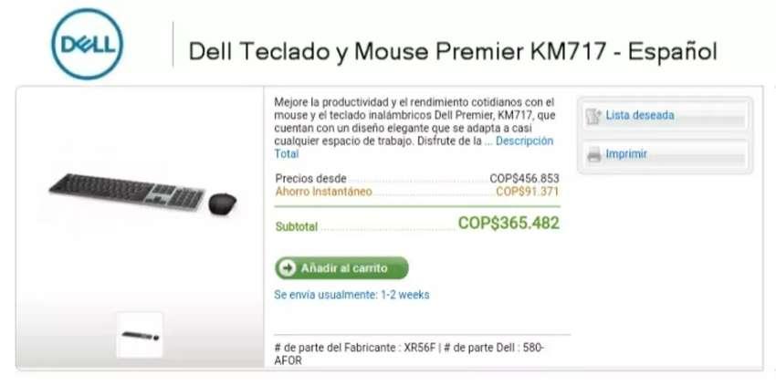 Fabulsoo teclaro inalambrico y mouse 0
