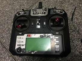 RC Control FLYSKY FST6 con recibidor FSIA6B Dron Drone