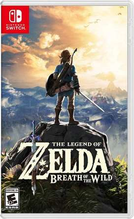 Juego Legend of Zelda Breath of the Wild Nintendo Switch