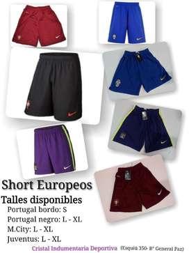 Shorts de Futbol Equipos Europeos