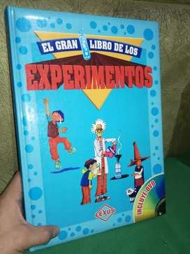 """Libro  """"El Gran Libro De Los Experimentos""""  Editorial (lexus)"""