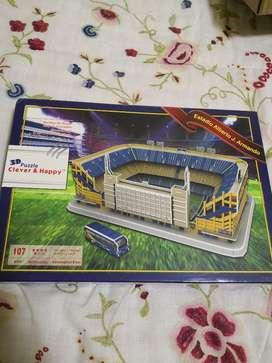 Rompecabezas 3d Estadios de Futbol
