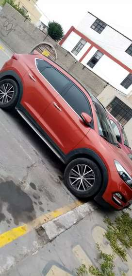 Hyundai Tucson 2016 versión super full + GLP segunda mano  Perú