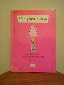 Libro Solo para Chicas/Ashley Rice/NUEVO!!! liquido!!!
