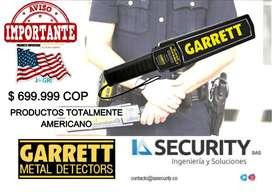 DETECTOR DE METAL GARRETT SUPER SCANNER