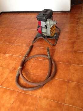 Vibrador Concreto con Motor a Gasolina