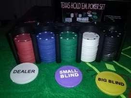 Fichas Y Paño para Poker