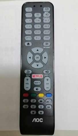 Control remoto AOC Smart TV con botón Netflix