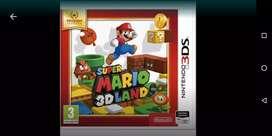 Vendo Mario 3d land