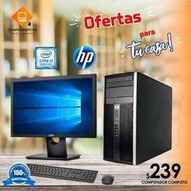 COMPUTADOR HP CORE I3 + ENTREGA A DOMICILIO