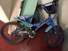 Bicicleta niño usada