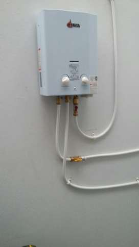 Instalación de equipos a gas