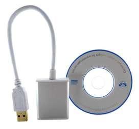 Cable Adaptador USB 3.0 Macho a HDMI Hembra
