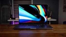 """Macbook pro 16"""" año 2020, Core i7, 512 Gb, 16 Gb RAM, 10/10 con todos los accsesorios nuevos"""