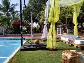 CABAÑA FINCA PARA EVENTOS EN GALAPA,  CARRETERA VÍA PALUATO. A solo 20 min. de Barranquilla. No consumo de Alcohol.