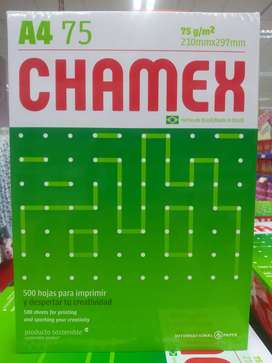 PAPEL A4 CHAMEX