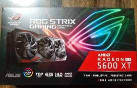Asus ROG STRIX RX5600XT 6gb TOP oc Edition
